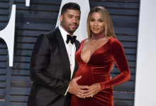 Photo of Pregnant Ciara in Car Accident