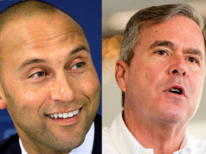 Jeb Bush-Derek Jeter Group Said to Win Auction for Marlins