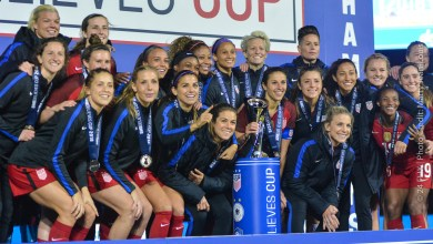 Photo of US Women's National Team Defeats England 1-0 to take the SheBelieves Cup