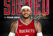 Photo of Rockets Officially Sign Carmelo Anthony