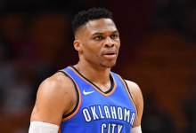 Photo of Russell Westbrook out After Surgery on Knee