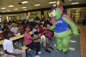 Magic and Orange County Public Schools Set a Textbook Pick, Read & Roll