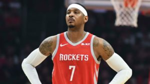 Carmelo Anthony to part ways with Rockets after playing 10 games