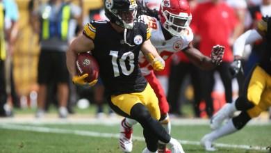 Photo of Steelers WR Ryan Switzer starts 'Reception Challenge' after mean tweet