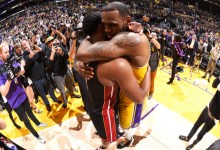Photo of LeBron James, Dwyane Wade author one more special moment on court together