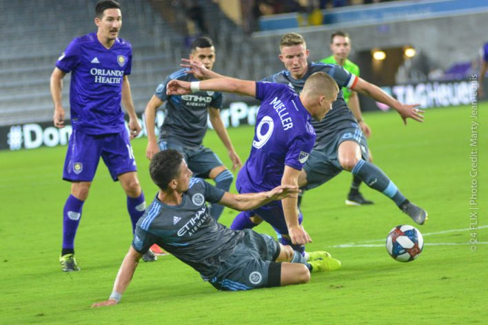 Orlando City takes out NYCFC 2-1 in preseason home opener