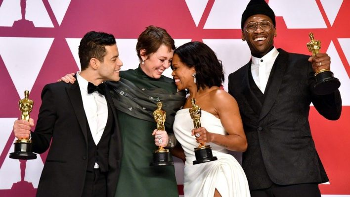 Oscars: The Academy Embraces 'Green Book, Denying Netflix's 'Roma' a Win