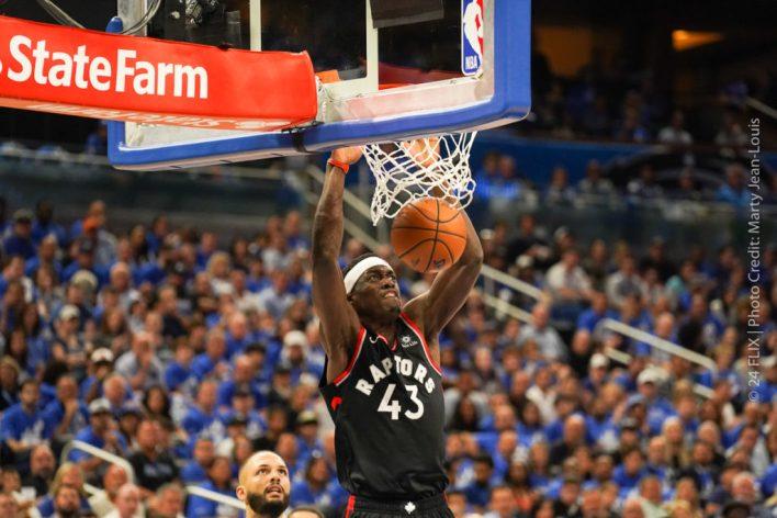 Raptors take game 4 from Magic, 107-85