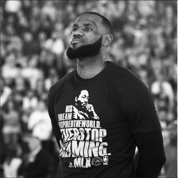 LEBRON JAMES JOINS FORCES WITH WALMART TO PROVIDE 1 BILLION MEALS TO FEED THE HUNGRY