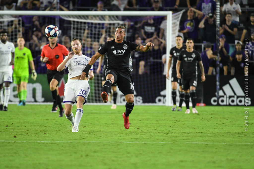 Orlando City beats Sporting KC 1-0 in a narrow win.