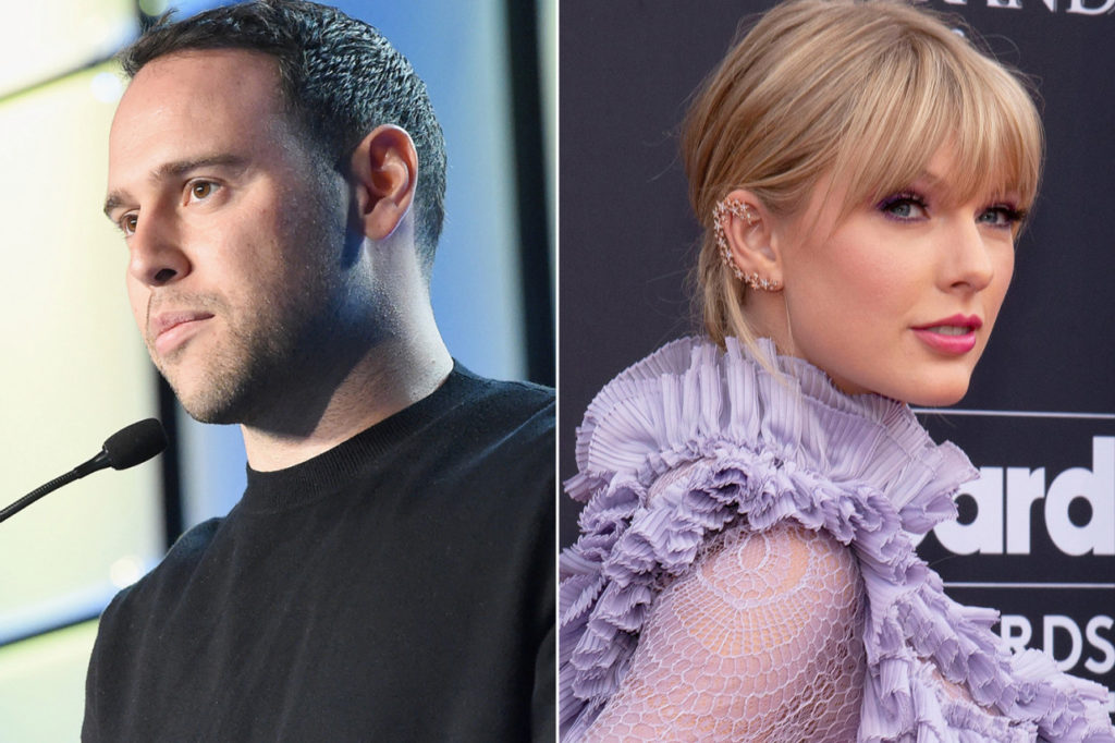 The Scooter Braun-Taylor Swift feud just took a wild turn