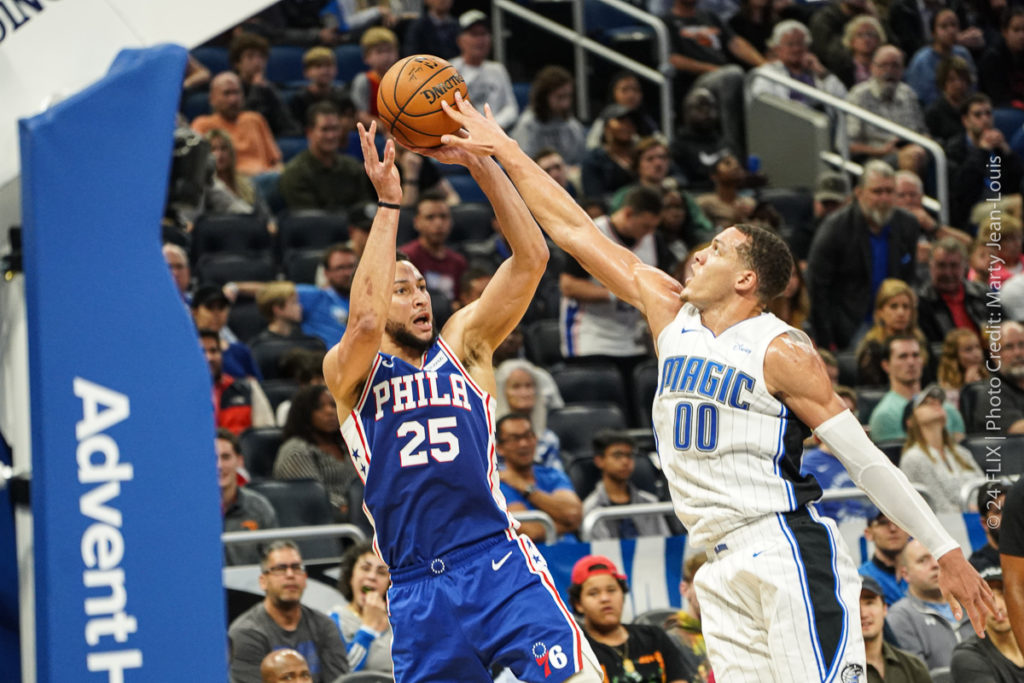 The Orlando Magic Grind Out a Close Victory Over The 76ers: 98-97