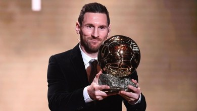 Photo of Leo Messi wins Ballon d'Or  for the sixth time (video)
