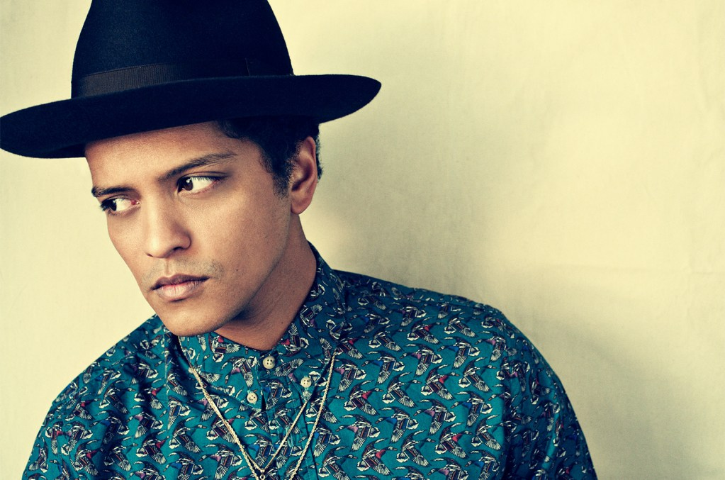 Disney Makes Bruno Mars Deal; Platinum-Selling Singer Will Star In, Produce Music-Driven Theatrical Film