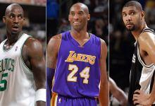 Photo of Kobe Bryant, Kevin Garnett, Tim Duncan headline 2020 Basketball Hall of Fame class