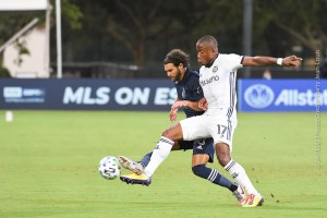 Philadelphia Union Hits Sporting KC Quick for a 3-1 Quarterfinal Win at MLS is Back Tourney