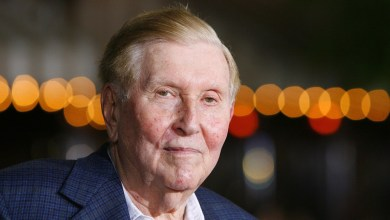 Photo of Sumner Redstone, billionaire media mogul, dead at 97