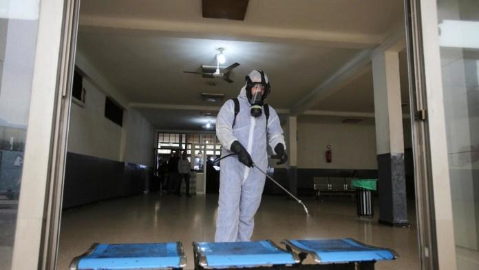 Des chercheurs de l'UR-MPE de Boumerdes mettent au point un désinfectant anti SARS-COV-2