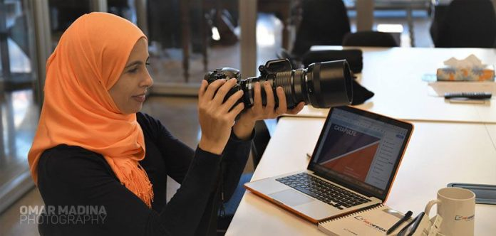 Karima Djaiz webdesigner :À 28 ans, elle a une entreprise à Montréal