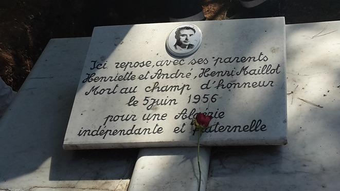 Au fronton de l'histoire : Le camion d'armes d'Henri Maillot