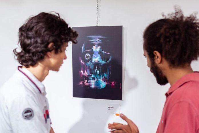 Exposition à la galerie d'art Bloom the art factory