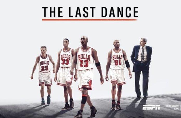 Michael Jordan, un héros américain: The Last Dance, réalisé par Jason Hehir (2020, Netflix)