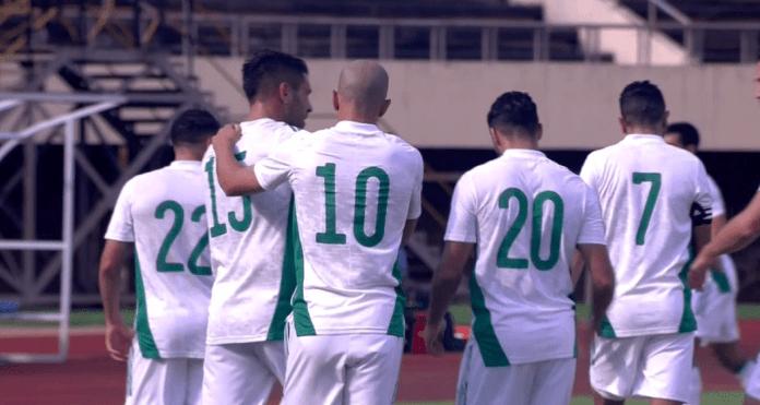 L'Algérie tenue en échec par le Zimbabwe (2-2), magnifique but de Mahrez (VIDEO)