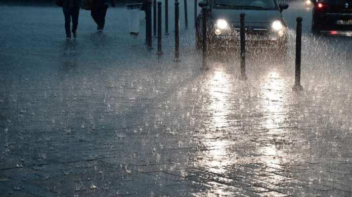 BMS: pluies orageuses accompagnées de grêle à partir de ce soir dans le Centre-est et l'Est du pays
