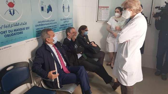 Abderahmane Benbouzid et deux autres ministres se font vaccinés