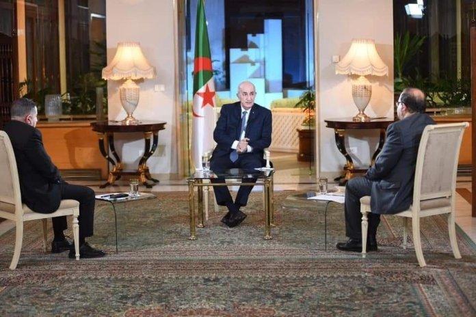 La rencontre de Abdelmadjid Tebboune avec les médias diffusée ce soir