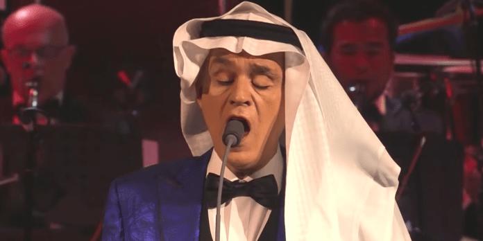 Le ténor italien Andrea Bocelli a donné jeudi un concert inédit à Hégra, ville antique de l'ouest de l'Arabie saoudite située dans le désert