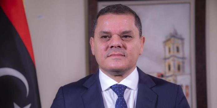 A Alger, Abdulhamid Al Dabaiba appelle au retrait des mercenaires présents dans le sahara libyen