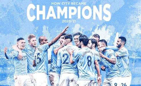 Riyad Mahrez et Manchester City champion d'Angleterre