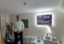 """Ramzi Chergui, interpelle sur l'avenir de la planète avec son installation """"le super marché des émotions"""""""