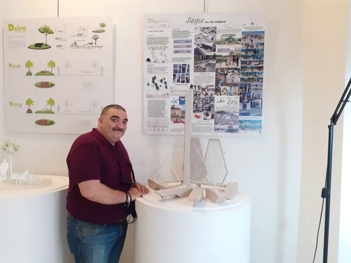 Ryad Aissaoui, repense l'espace urbain, avec son mobilier écologique et connecté