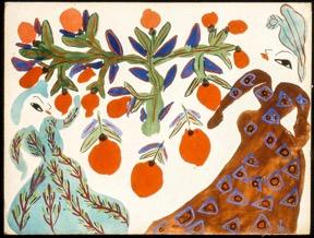 Baya influenceuse de Matisse et Picasso ?