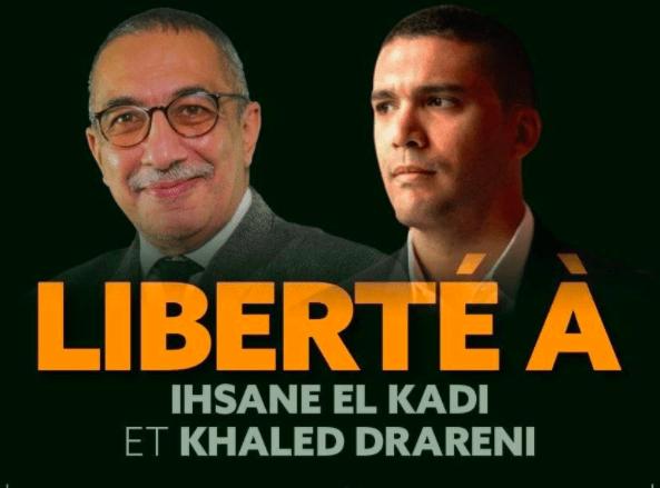 Radio M et Maghreb Emergent exigent la libération de Ihsane El Kadi et Khaled Drareni