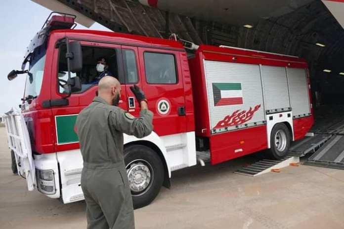 Le Koweït offre à l'Algérie six camions anti incendies