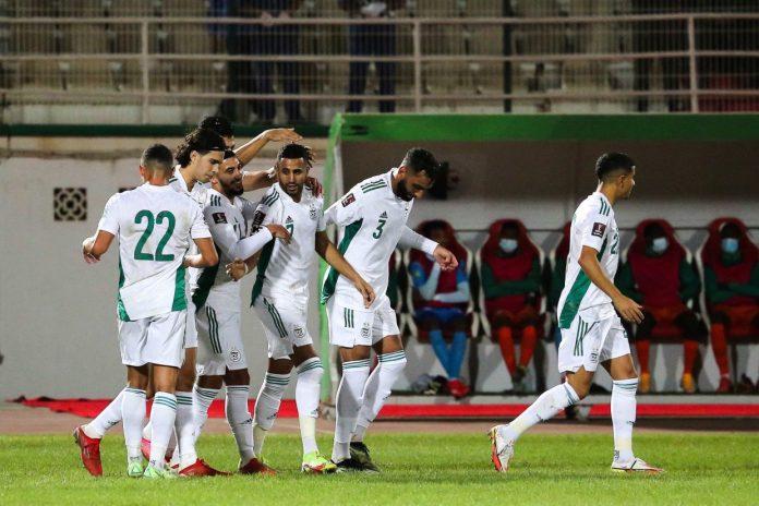 Eliminatoires Mondial-2022: l'Algérie bat le Niger 4-0
