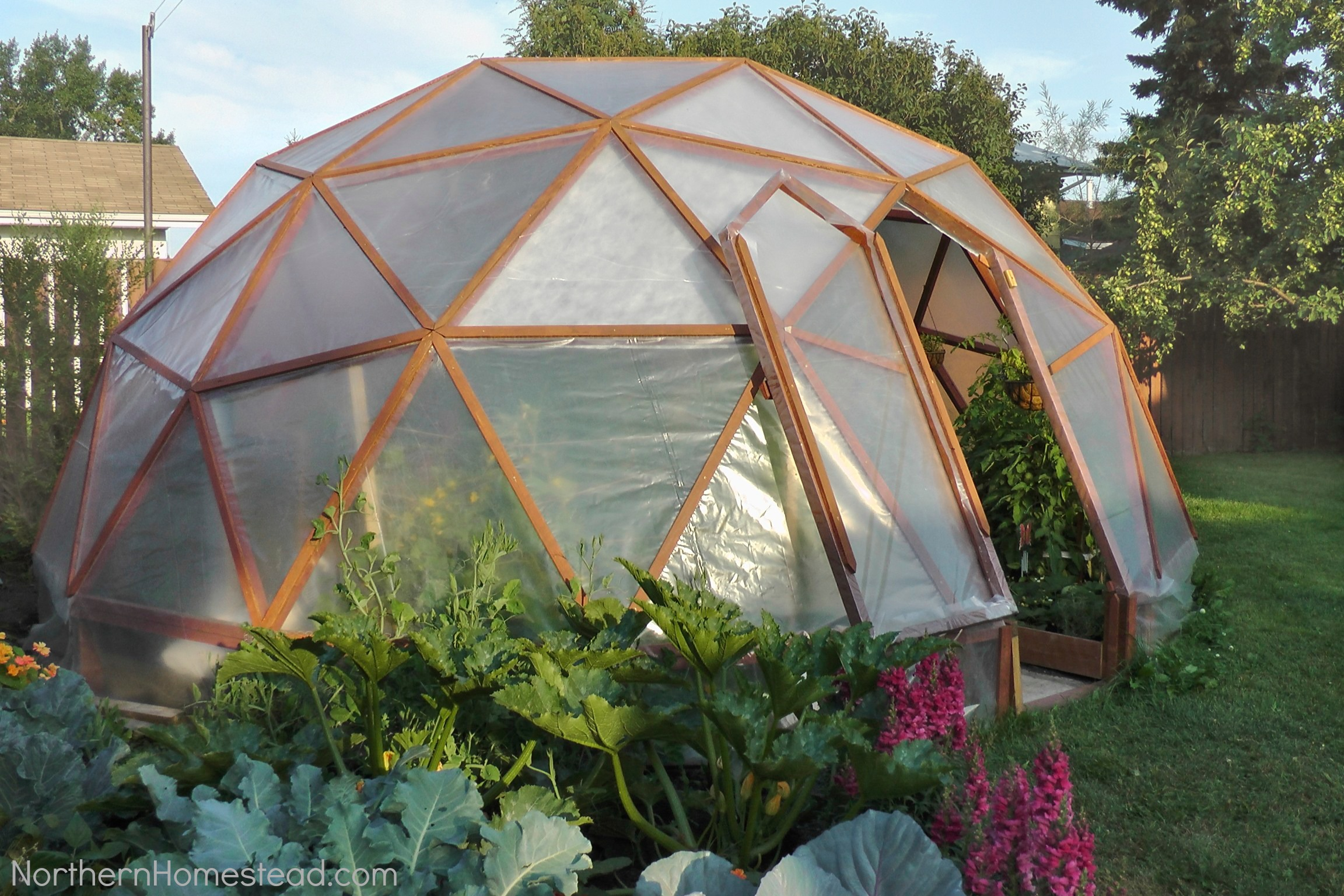 dome greenhouse - Greenhouse Design Ideas