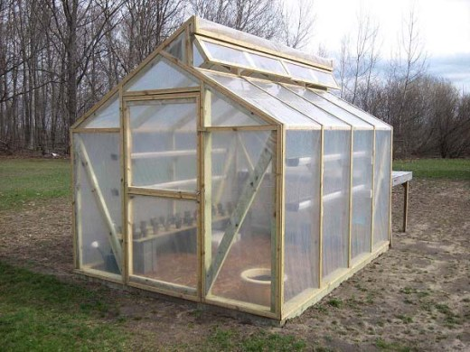 Top 20 Greenhouse Designs and Costs Gable roof greenhouse