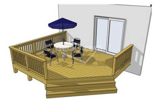 Deck Design Ideas 77 cool backyard deck design ideas Small Budget Deck