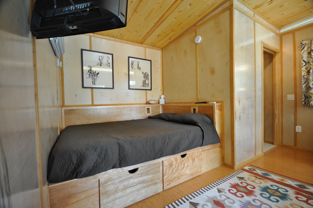 tiny house bedroom. modern dwell storage Tiny House Movement  How to Build a Home Costs DIY