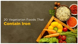 20 Vegetarian Foods That Contain Iron