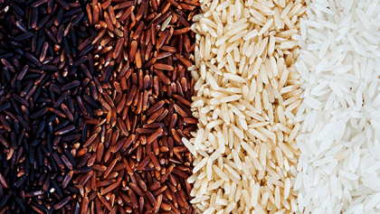 White, Brown & Red Rice – Nutritional Benefit of Each