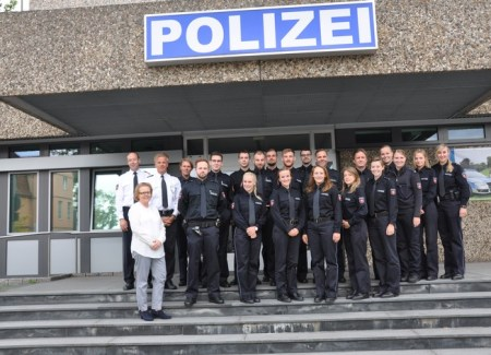 Neuzugänge PI Celle - Foto: © Polizeiinspektion Celle