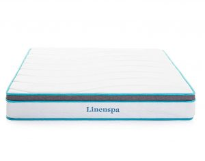 LINENSPA 8 Inch Memory Foam and Innerspring Hybrid Mattress - Queen