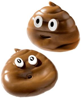 sticky poop