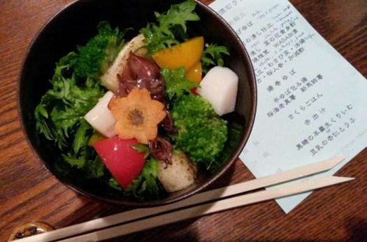 Yuba lunch in Nikko
