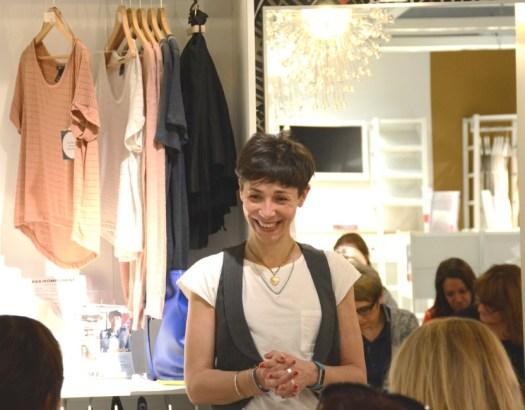 Elena Dossi, Professional Organizer, ci spiega il cambio armadio perfetto in un workshop presso IKEA Carugate